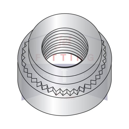 4-40-0 Self Clinching Nuts | 303 Stainless Steel | Passivated to ASTM A380 (QUANTITY: 5000) by Jet Fitting & Supply Corp