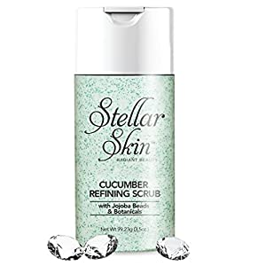 Cucumber Exfoliating Face Scrub – Best Daily Body and Face Wash. Removes Dead Surface Skin. Soothe and Refresh the Skin for a Smooth, Clear Complexion Exfoliate Without Irritation Men & Women