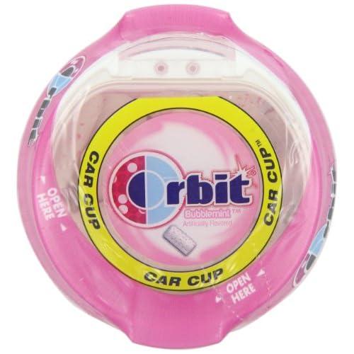 70%OFF Orbit Bubble Gum Cups, Bubble Mint, 55 pieces bottle, 4-Count
