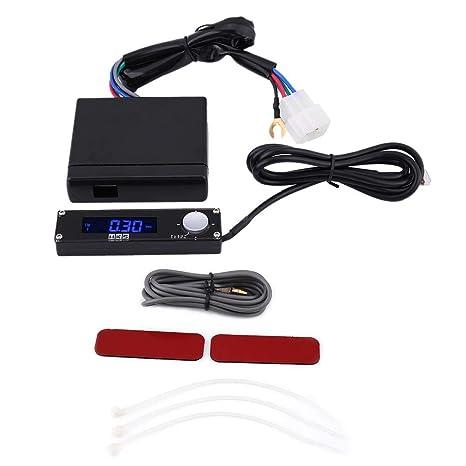 KIMISS universal Dispositivo temporizador de Turbo del coche, LED Retardador de tiempo turbo de Auto