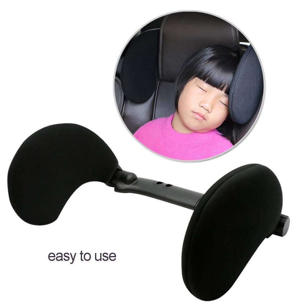 Auto poggiatesta cuscino poggiatesta Neck Support Sleeping cuscino molle del collo capo della spalla di sonno Cuscino per bambini adulti Blu 1PC