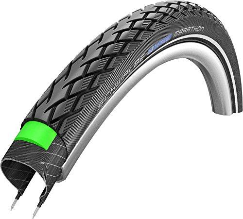SCHWALBE trekking bike tyre Marathon Green Guard 28 x 1.75 inch reflective