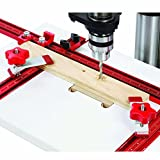 12 Inch Drill Press - Woodpeckers WPDPPACK1 Drill Press Table with 2 Hold Down Clamps