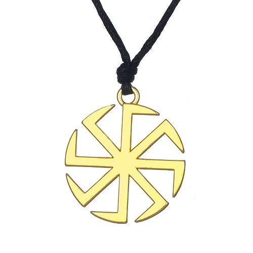 Amazon Fishhook Wicca Slavic Kolovrat Sun Wheel Symbol For Good