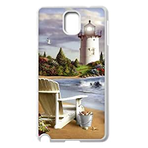 WJHSSB Customized Print Lighthouse Hard Skin Case Compatible For Samsung Galaxy Note 3 N9000