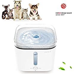 PETKIT Water-shortage Alert Automatic Power-off Ultra-silent Pump Dual Modes Pet Fountain CATS DOGS Water Fountain Dispenser (Water Fountain)