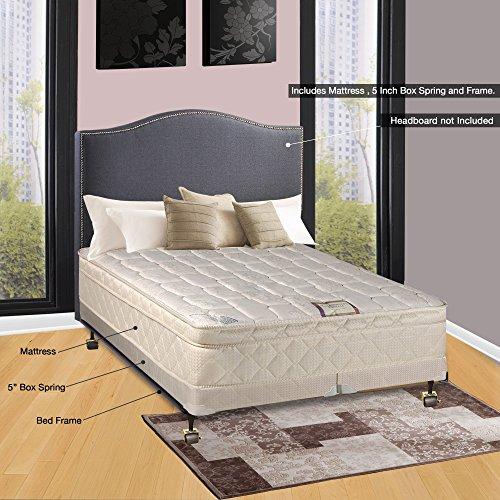 split box spring bed frame - 2