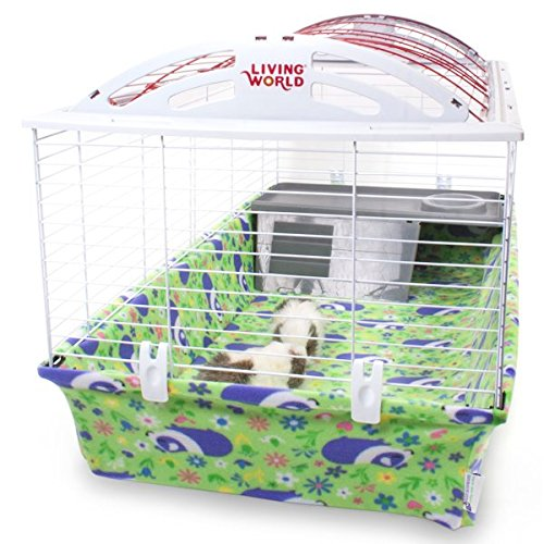 ad Cage Liner for Hagen Living World Cage (L, Meadow Pig) ()