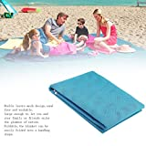 YTYC Outdoor Travel Beach Mat Foldable Mesh Blanket 1.5x2m Picnic Camping