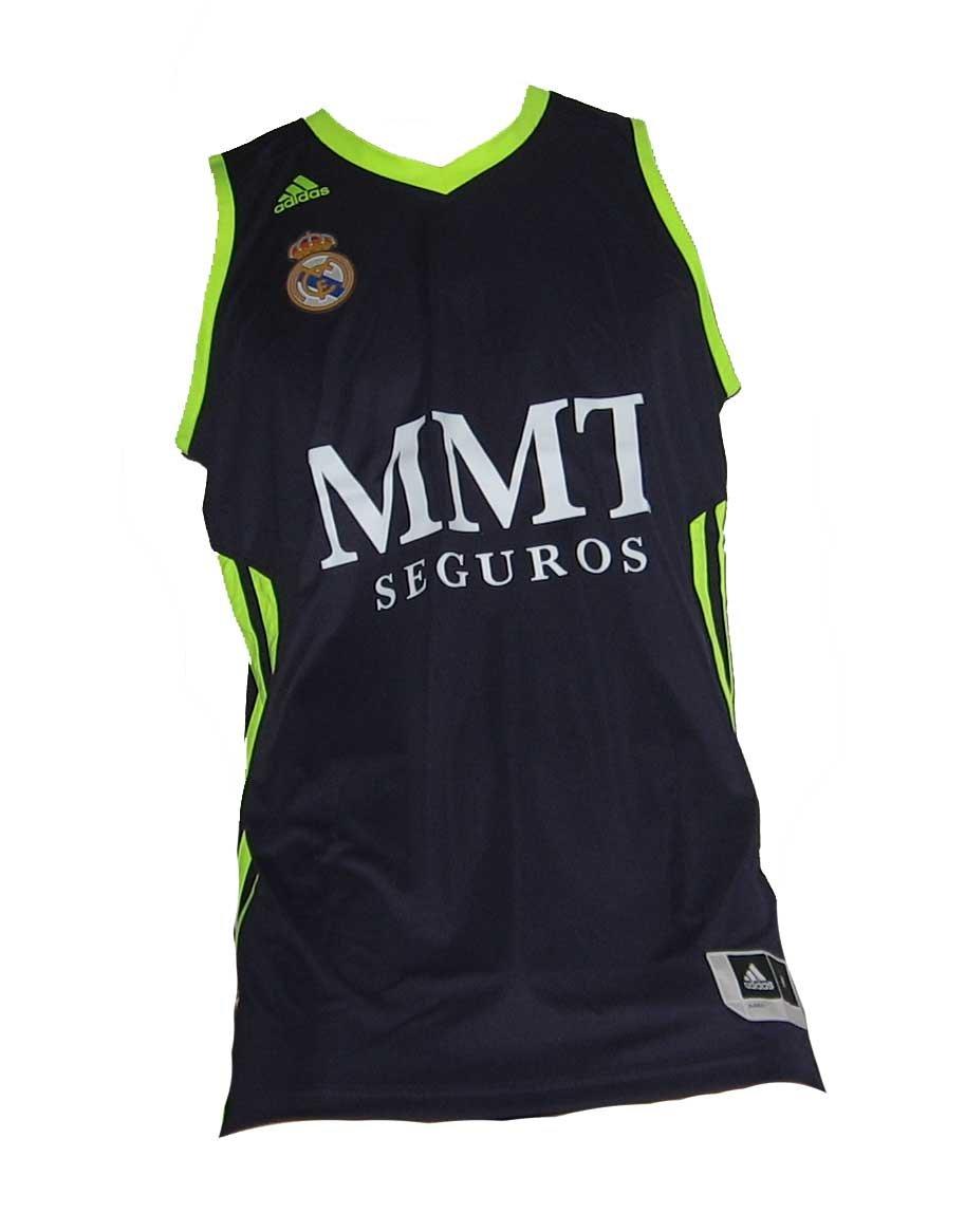 Camiseta Real Madrid Basket 2ª 2012-13: Amazon.es: Deportes y aire ...