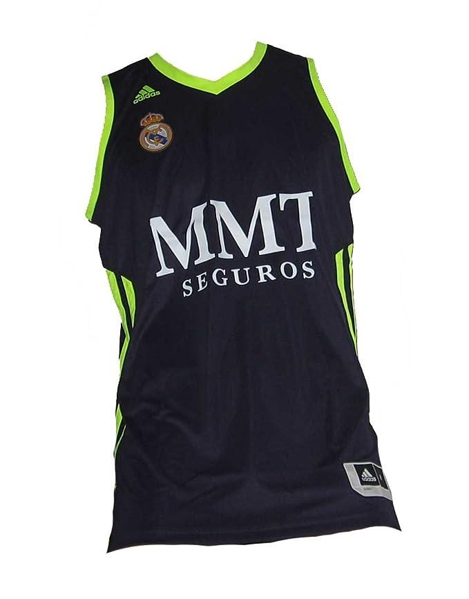 adidas Camiseta Real Madrid Basket 2ª 2012-13: Amazon.es: Deportes ...