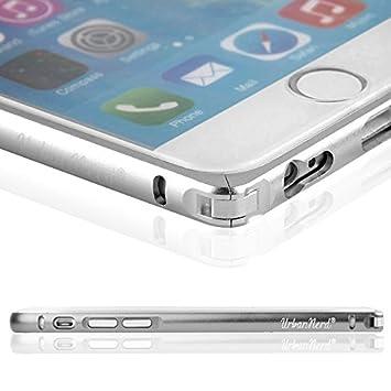 urbannerd® CNC Aluminio Exclusivo bordes Protección Bumper para Apple iPhone 6/6s – Carcasa Case Carcasa Funda Funda en bordes Protección/Bumper ...
