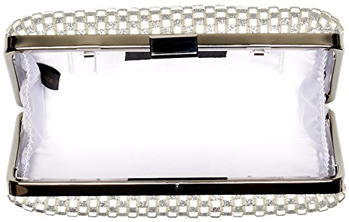 Noelle McClintock Minaudiere Silver Jessica Evening q4ABSw