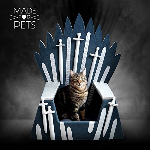 Iron Throne cat bed, Pet bed by MadeForPets