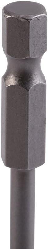 Lot de 7/1//10,2/cm Tige hexagonale 2//2,5//3//4//5//6//8/mm T/ête de boule de Bits de tournevis magn/étique Cl/é Allen Boule Astuce 65/mm Longueur