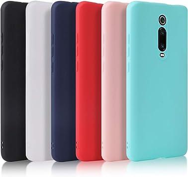 Oureidoo 6X Funda Xiaomi Mi 9T/Mi 9T Pro, Carcasa en Silicona ...