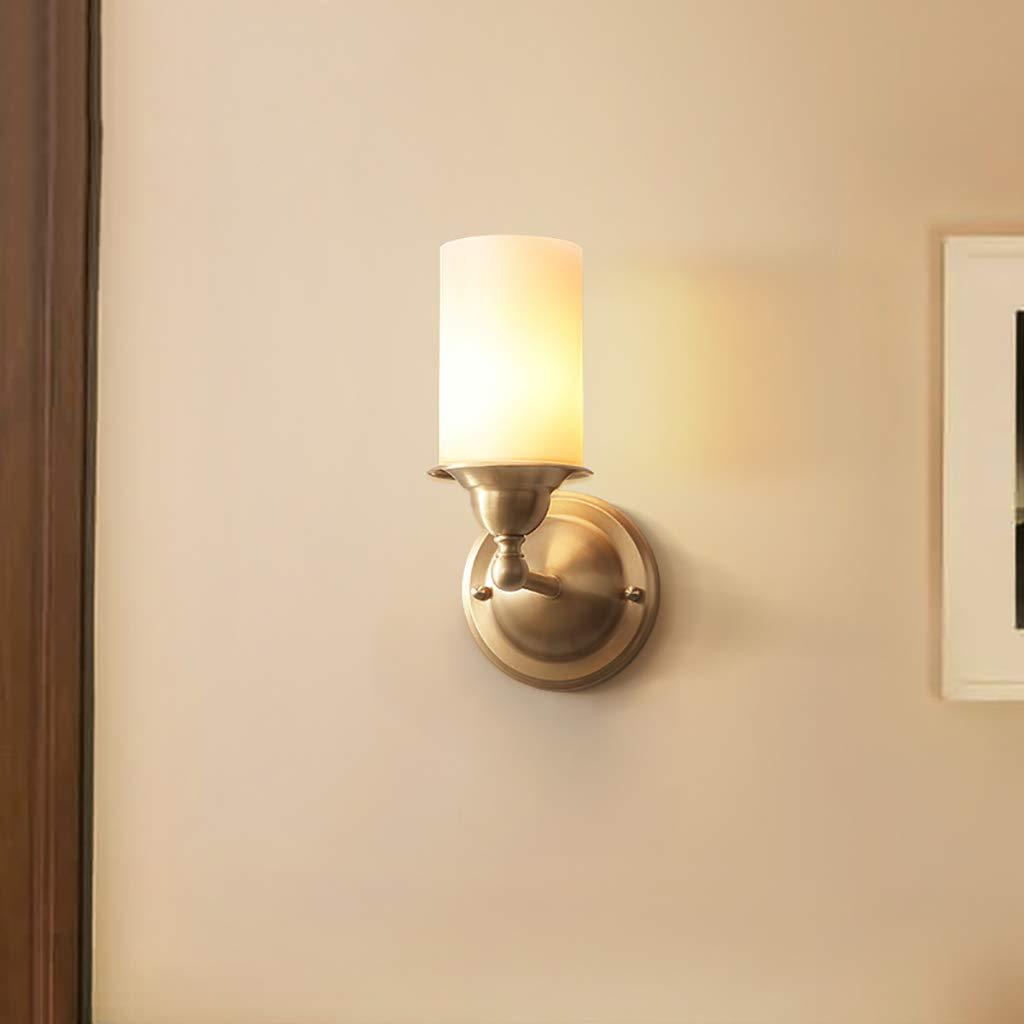 Wandleuchte Nachttisch American alle Bronze Einfache Schlafzimmer Wohnzimmer Flur Wandleuchte