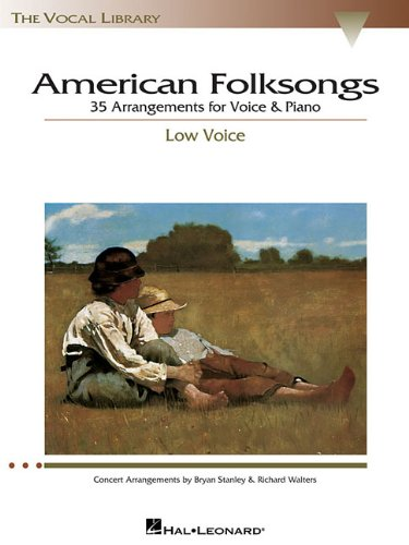 - American Folksongs - Low Voice (The Vocal Library Series)