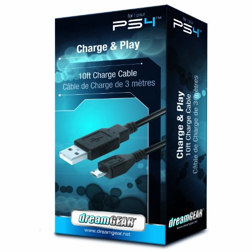 DreamGEAR Charge and Play - PlayStation 4