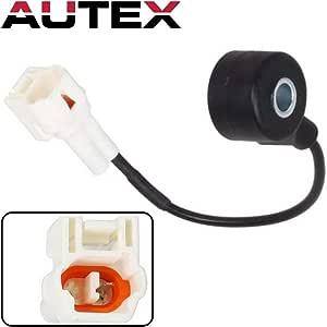 AUTEX Engine Ignition Knock Sensor KS96 22060-AA061 compatible with Subaru Legacy 1997 1998 2.2L VIN 4//2.5L VIN 6