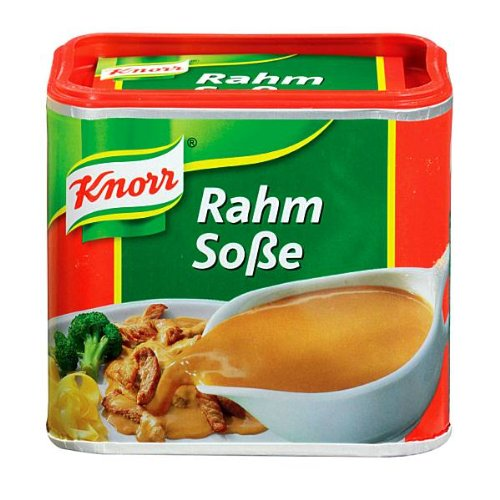 - Knorr Creamy Gravy for Meat (Rahm-Sosse) -Pack of 2 Containers