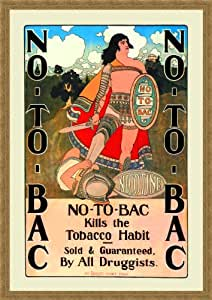 No-To-Bac 20x30 Archival Ink-Jet, Print and Framed