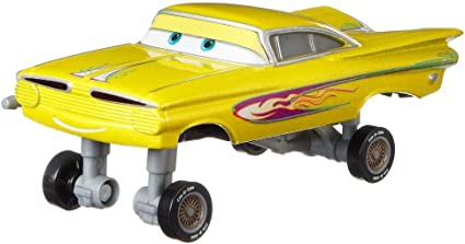 Amazon Com Disney Pixar Cars Yellow Hydraulic Ramone Toys Games