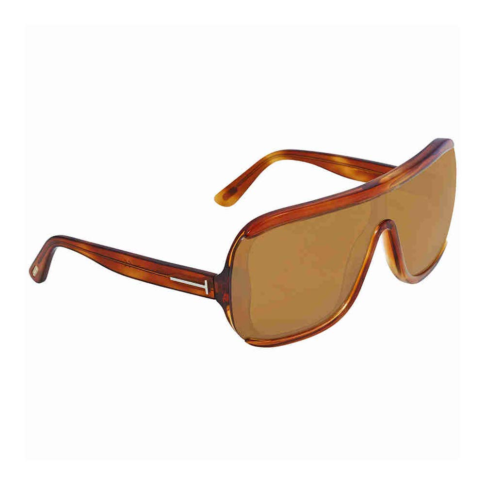 Tom Ford Unisex Adults' FT0559 53E 00 Sunglasses, Brown (Avana Bionda/Marrone), 0