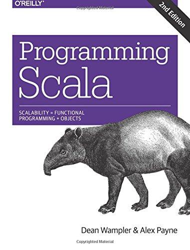 Programming Scala ISBN-13 9781491949856