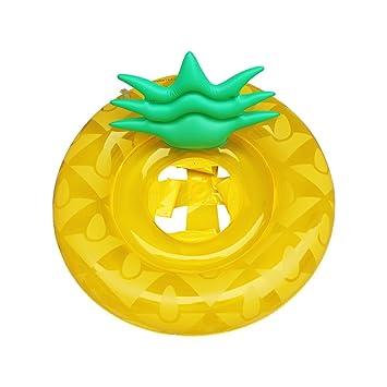 WayOuter Flotador para Bebé piña Anillo de Natación Lindo Rosa Inflable Asiento de la Piscina Barco Niños Playa Juguetes: Amazon.es: Juguetes y juegos