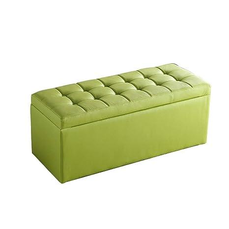 Stupendous Amazon Com Grjxmd Green Storage Stool Ottoman Storage Box Short Links Chair Design For Home Short Linksinfo