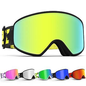 Gafas de esquí, Copozz MX 2 en 1 gafas de esquí para ...