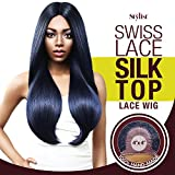 The Stylist Synthetic Lace Front Wig Swiss Lace Silk Top Swiss Goddess (F1B/30)