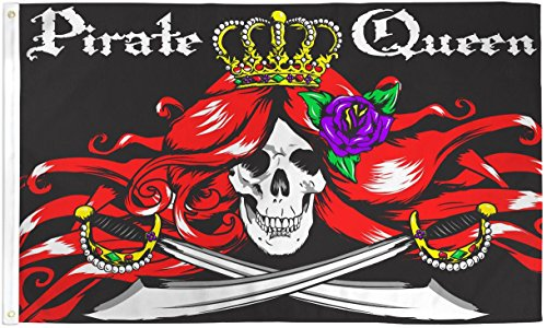 3x5 Pirate Queen Flag Lot of 2 Flags Super Polyester Nylon F