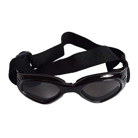 POPETPOP Gafas de Sol para Mascotas, Gafas de Sol Plegables ...