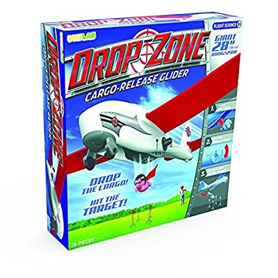 SmartLab Toys Drop Zone Cargo Release Glider: Toys & Games