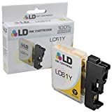 LD © Compatible Brother LC61 / LC61Y Yellow Ink Cartridge