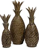 IMAX Pineapple Medley Artificial Fruit, Set of 3
