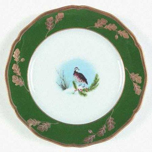Lynn Chase Designs Winter Games Green Salad Plate (Lynn Chase Designs)