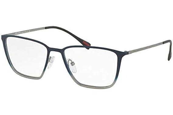 29f8504e467 Prada PS51HV Eyeglass Frames U6U1O1-54 - Topaz Grey Gradient Gunmteal