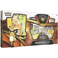 Pokemon TCG: Shining Legends Special Collection Box Trading Card Set, 5 Booster Packs, 1 Rare Foil Raichu-GX Card, 1 Foil Pikachu Promo Card, 1 Oversize Foil & More