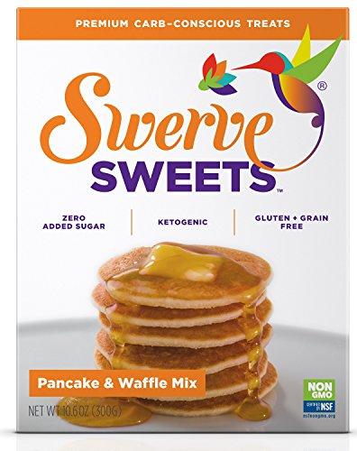 - Swerve Sweets, Pancake and Waffle Mix, 10.6 ounces