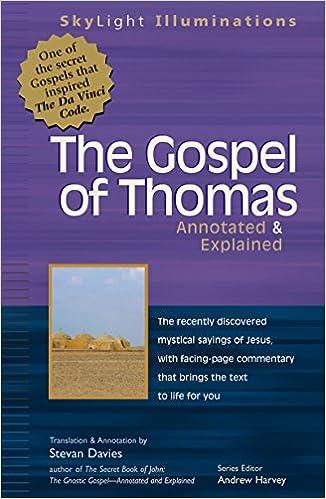 Gospel of Thomas: Annotated & Explained (SkyLight Illuminations)