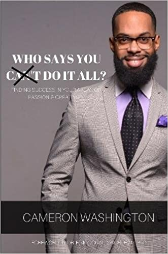 Who Says You Cant Do It All Paperback Amazonde Cameron