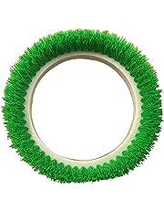 "Bissell BigGreen Commercial 237.057BG Scrub Brush, 0.015"" Bristle Diameter Crimped Polypropylene for BGEM9000 Easy Motion Floor Machine, 12"", Green"