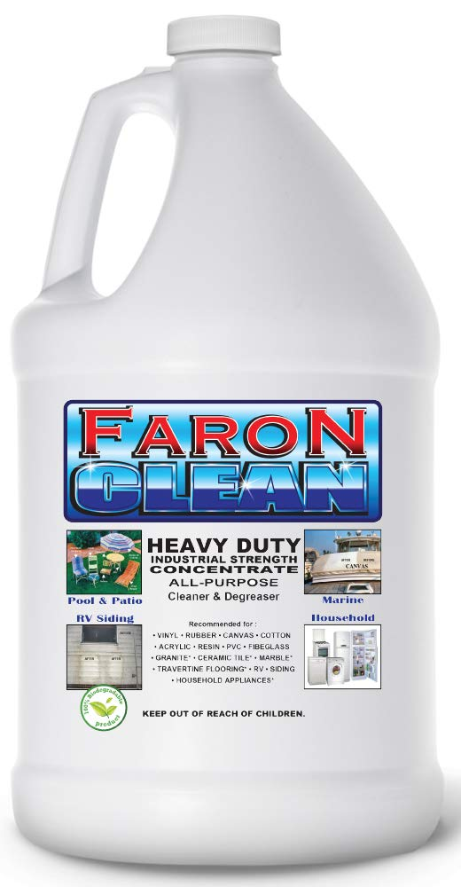 FaronClean Pool and Patio Furniture Cleaner-One Gallon Bottle by Faron Clean