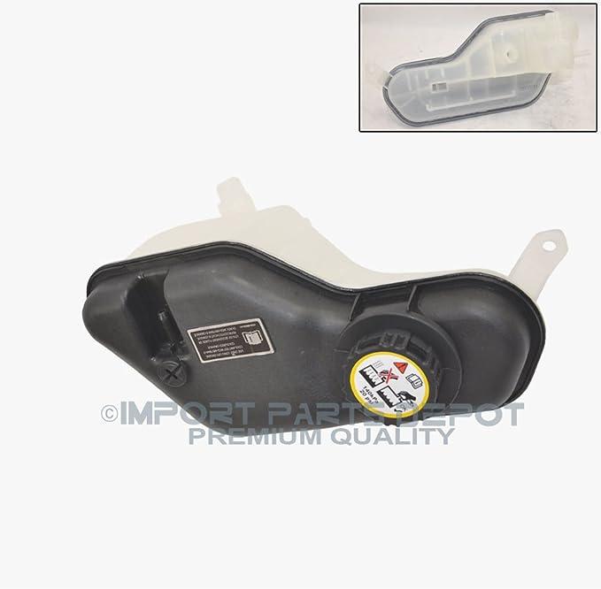 KSTE Car Coolant Reservoir Bottle Expansion Tank Cap Compatible with Jaguar X-Type XJ8 XK8 XJR XKR 2003-2009
