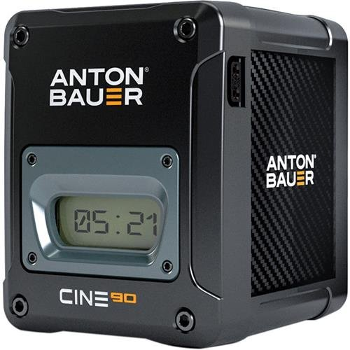 Anton Bauer CINE 90 14.4V 90Wh V-Mount Lithium Ion Battery for Digital Cinema Cameras and Camera Stabilizer Systems by Anton Bauer