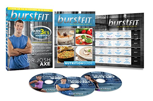 BurstFIT: Dr. Josh Axe's Complete Home Fitness Workout DVD Program by BurstFit