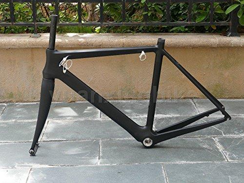 906# Toray Carbon Frameset Full Carbon UD Matt Road Bike BB30 Frame 56cm Fork Headset